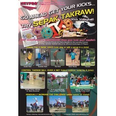 Sepak Takraw Instructional-Action Poster