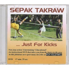 DVD: Instructional, Sepak Takraw – Just for Kicks