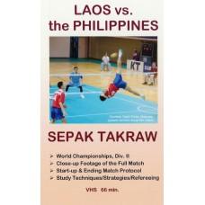Video: Full Match, Laos vs. Philippines