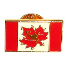 Takraw Canada Flag Pin