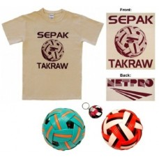 Special - NetPro T-shirt & Takraw Balls Gift Package
