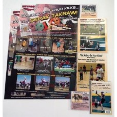 Sepak Takraw Instructional Resources Kit