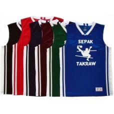 Sepak Takraw Jersey - Basketball Style