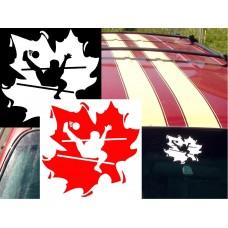 Takraw Canada Decal